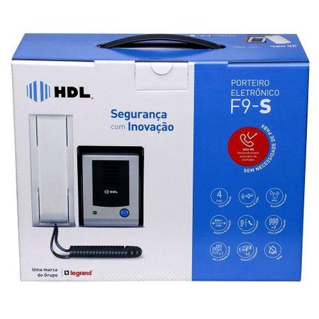 Porteiro Eletrônico HDL F9 S Função Siga-me Externo