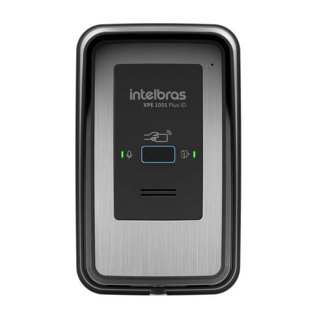 Porteiro Eletrônico Tecla Única XPE 1001 Plus ID Intelbras