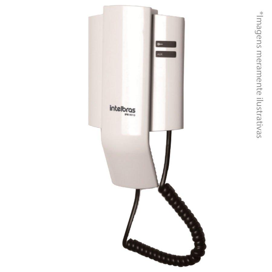 Porteiro Interfone Eletrônico IPR 8010 Residencial Intelbras.