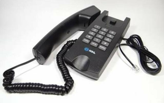 Telefone Gôndola Centrixfone Preto HDL