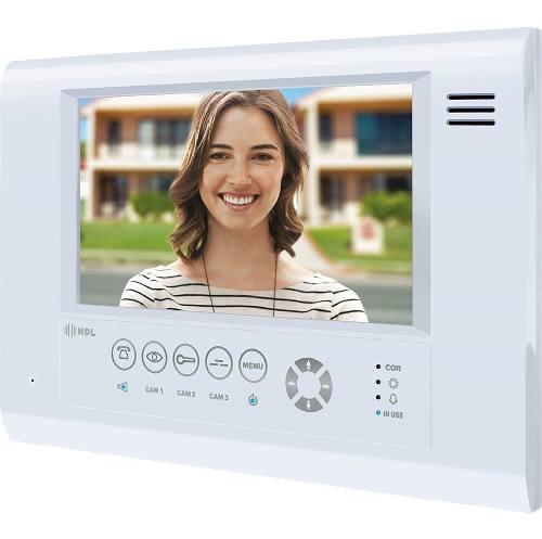 Video Porteiro Eletrônico HDL com Memória Controle de Acesso Siga-Me Seven S MCA.