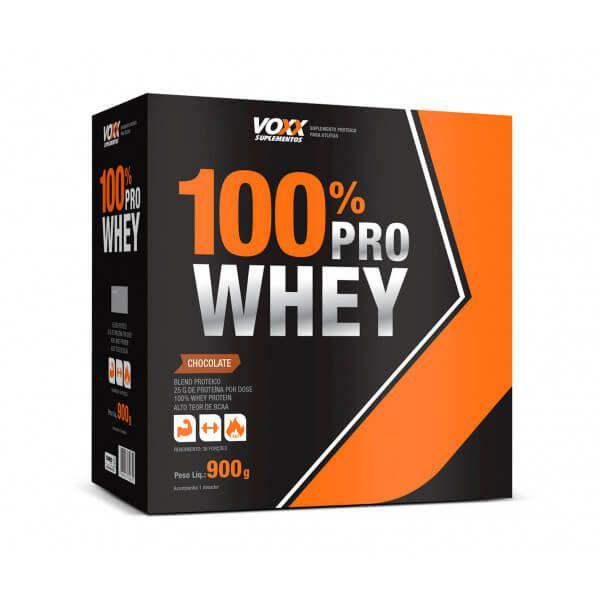 100% PRO Whey Voxx Suplementos - 900g
