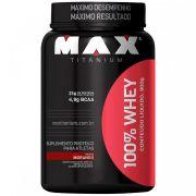 100% Whey Max Titanium - 900g