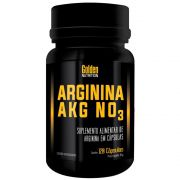 Arginina AGK NO3 Golden Nutrition - 120 caps