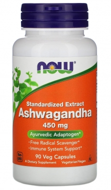 Ashwagandha 450mg Now Foods - 90 caps