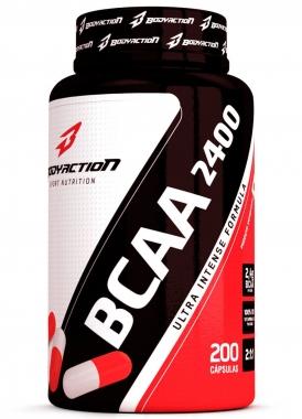 BCAA 2400 Body Action - 200 caps