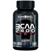 BCAA 2400 Caveira Preta Black Skull - 100 tabletes