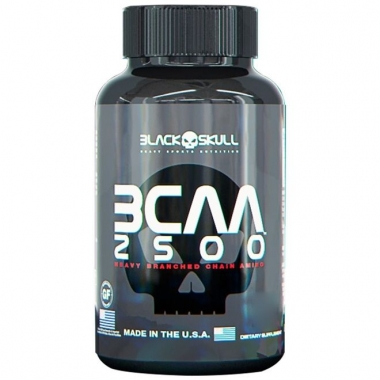 BCAA 2500 Black Skull - 60 caps