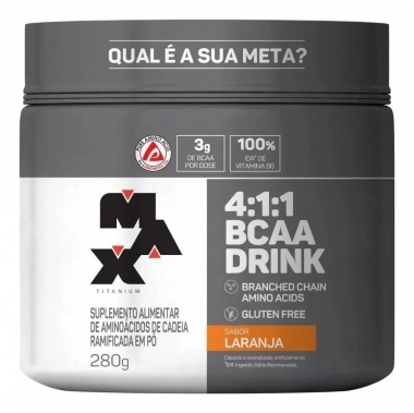 BCAA 4:1:1 Drink Max Titanium - 280g