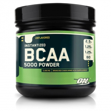 BCAA 5000 Powder Sem Sabor Optimum Nutrition - 60 doses