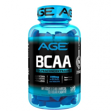 BCAA Ultra Concentrado AGE - 120 tabletes