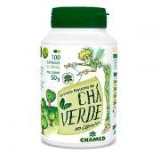 Chá Verde 500mg Chamel - 100 caps