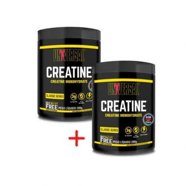 Combo Creatine Monohydrate Universal Nutrition - 200g + 200g