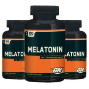 COMBO Melatonina Optimum Nutrition 3x - 300 caps Venc. 08/20