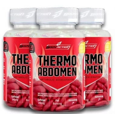 Combo Thermo Abdomen Body Action - 360 caps