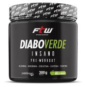 Diabo Verde Insano Pre-Workout 300g - FTW Nutrition