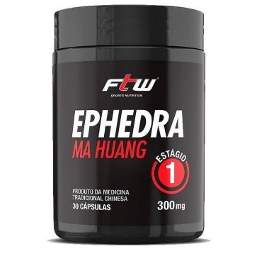Ephedra 300mg FTW Sports Nutrition - 30 caps