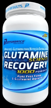 Glutamine Science Recovery 1000 Powder Performance Nutrition - 1kg