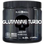 Glutamine Turbo Black Skull - 150g