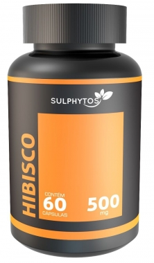 Hibisco 500mg Sulphytos - 60 caps