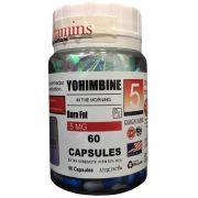 Ioimbina 5mg Eurovitamins - 60 caps