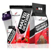 Kit Body Action Whey Blend 1.8kg + BCAA 90 caps + Malto 1kg (BRINDE)