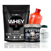 Kit Monstro Whey 3HD 900g + Dilatex 152 caps + D-Vaster 150g (BRINDE)