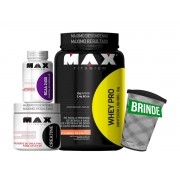 Kit Whey PRO + Creatina + BCAA (BRINDE)