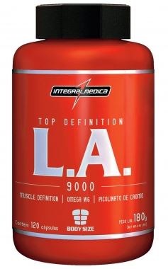 L.A Top Definition IntegralMedica - 120 caps