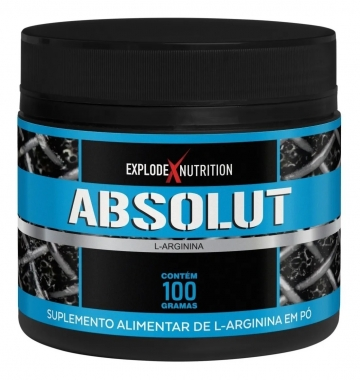 L-Arginina Absolut Explode Nutrition - 100g