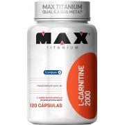L-Carnitine 2000 Max Titanium - 120 caps
