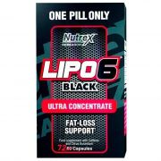 Lipo 6 Black Fat-Loss Support - 72 caps