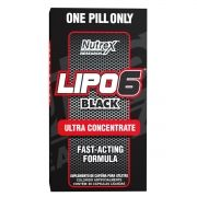 Lipo 6 Black Ultra Concentrado Nutrex Research - 60 caps