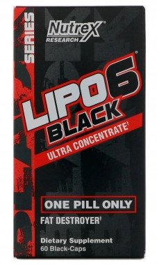 Lipo 6 Black Ultra Concentrado Nutrex Research (IMPORTADO) - 60 caps