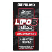 Lipo 6 Black Ultra Concentrate Nutrex (NACIONAL) - 60 caps