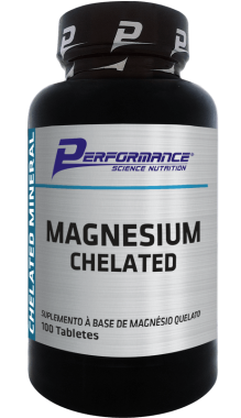 Magnesium Chelated Performance Nutrition - 100 tabletes