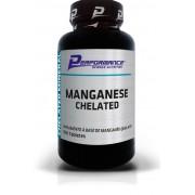 Manganês Quelato Performance Nutrition - 100 tabletes