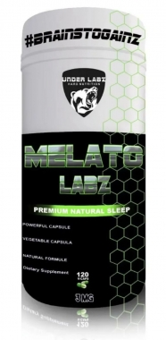 Melatonina Labz 3mg Under Labz - 120 caps