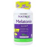 Melatonina Sublingual 10mg Natrol - 60 tabletes
