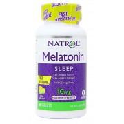 Melatonina Sublingual 10mg Natrol - 60 tabletes