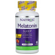 Melatonina Sublingual 5mg Natrol - 90 tabletes
