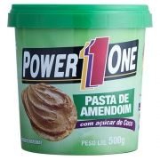 Pasta de Amendoim Açucar de Coco Power One - 500g