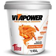 Pasta de Amendoim Crunchy Bacon VitaPower - 454g