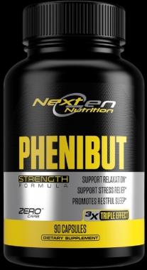 Phenibut 500mg Next Gen Nutrition - 90 caps