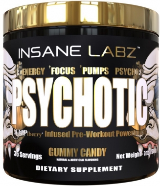 Psychotic Gold Insane Labz (IMPORTADO) - 200g