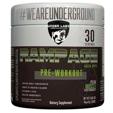 Rampage Pre-Workout Under Labz - 300g