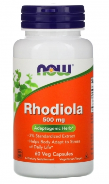 Rhodiola 500mg Now Foods - 60 caps