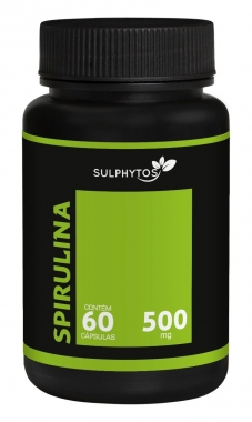 Spirulina 500mg Sulphytos - 60 caps