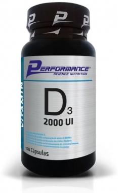 Vitamina D3 2000UI Performance Nutrition - 100 caps