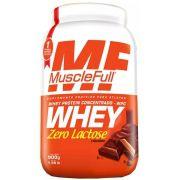 Whey Concentrado Zero Lactose MuscleFull - 900g